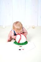 Bangor Maine Cake Smash Session - Baseball Theme
