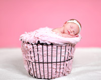 Newborn Girl Photographs in Bangor Maine Region