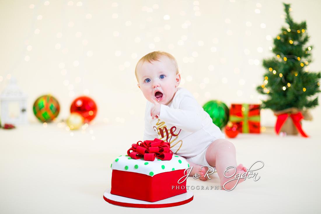 Christmas Cake Smash - Bangor Area