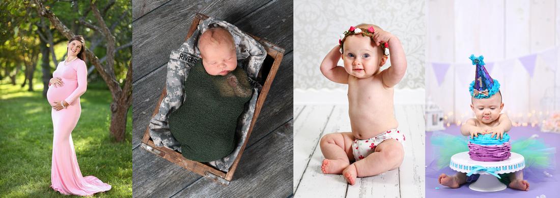 Maternity Newborn 6 Month Sitter Cake Smash