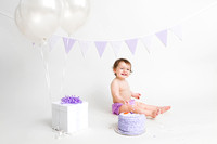 Baby Photography - Baby's first birthday - Cake Smash - Bangor Maine