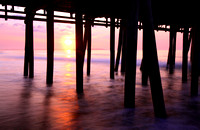 Old Orchard, Maine - Beach Pier Sunrise